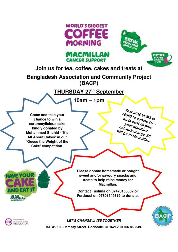 Macmillan's Coffee Morning Sept'18-1