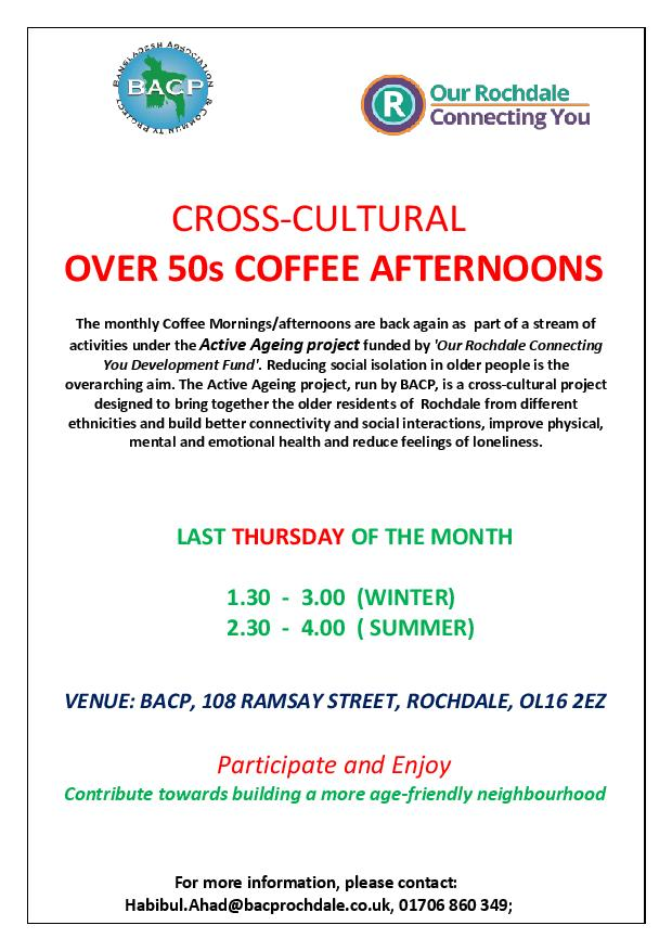 Active Aging Connecting You Coffee Morning